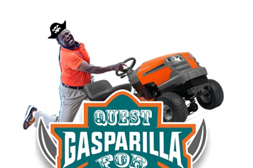 Quest for Gasparilla: THE BAD BOY MOWER IS ALMOST READY