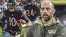 Matt Nagy says Mitchell Trubisky played better than most people think vs. Patriots