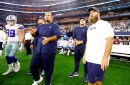 Are the struggles along the Cowboys' offensive line solely due to Travis Frederick's absence?