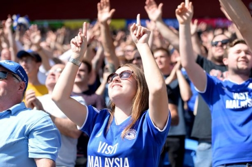 Crazy Cardiff City fans are as good as Liverpool, Newcastle United and Leeds United — they are amongst the very best in the Premier League