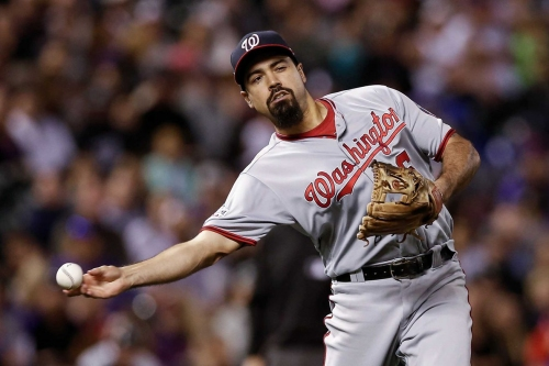 Anthony Rendon an NL Gold Glove finalist at third base... again