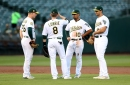 All four A's infielders are Gold Glove award finalists