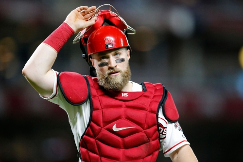 Reds' Tucker Barnhart donates Indiana Pacers tickets for Tyler Trent's cancer fundraiser