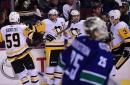 Penguins-Canucks Recap: Pens Cruise Through Canada with Perfect 4-Game Road Trip; Win 5-0