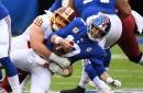 WATCH! Matt Ioannidis sacks Eli Manning twice in the first half