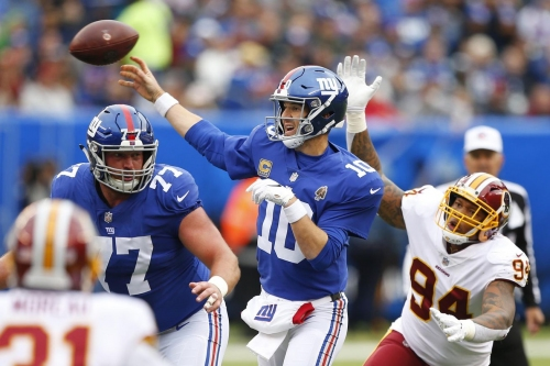WATCH! Eli Manning Face Part 2: D.J. Swearinger gets another INT