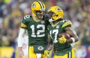 Packers take early lead on Rams after big catches by Davante Adams & Jimmy Graham