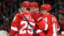 Red Wings get first home win over Stars