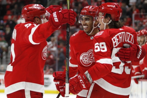 Wings outshine Stars 4-2 - get second win of the season