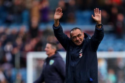 Maurizio Sarri makes history as Chelsea smash Burnley