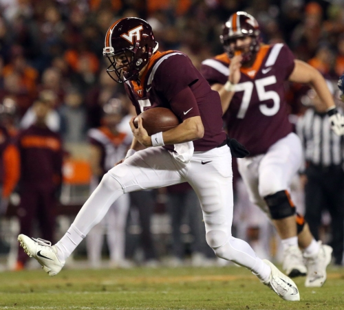 Virginia Tech will have to wait a week to find out game time, network for Pitt game