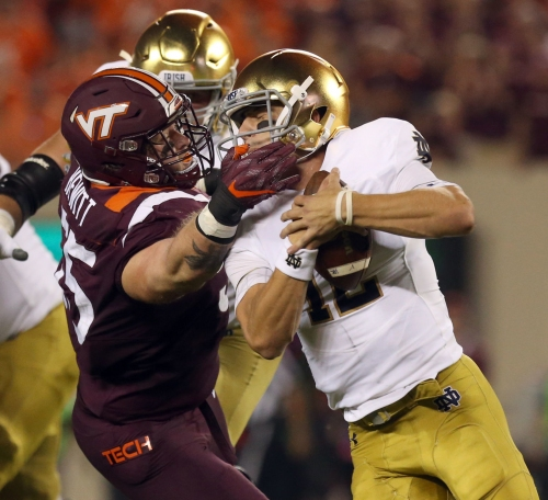 Pair of Virginia Tech defensive starters 'day-to-day' with injuries