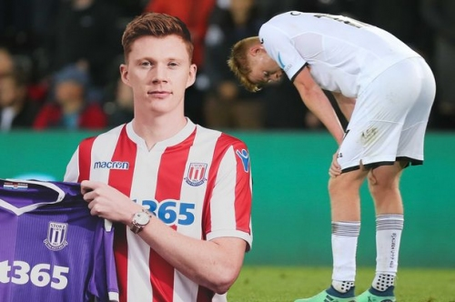 What's happened to ex-Swansea City man Sam Clucas as Stoke City admit it was 'risk' to sign him