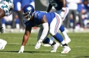 How did the Giants' roster changes show up in the stats from Week 8?