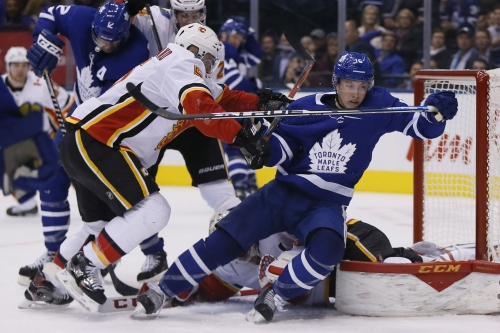 Calgary Flames (3) @ Toronto Maple Leafs (1): Strong 3rd Puts Flames Past Leafs