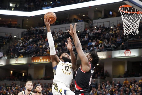 Blazers Ride Bench To Overcome Shaky Start, Beat Pacers