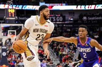 TUNE-IN: LA Clippers, with NBA's best bench, vs. Anthony Davis & Pelicans (7p, Prime Ticket)