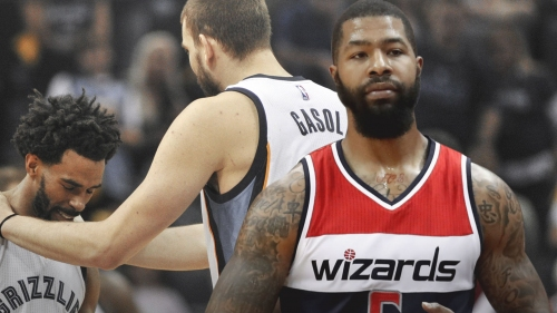 Wizards' Markieff Morris out vs. Grizzlies after entering concussion protocol