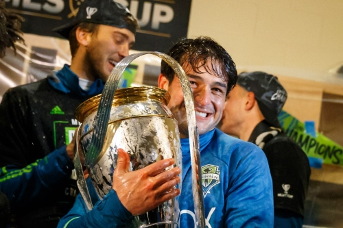Oddsmakers don't like Sounders' chances of winning MLS Cup