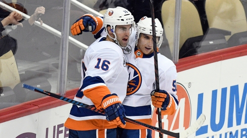 Jordan Eberle scores twice to lead Islanders past Penguins