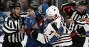 Barbashev raises his profile on the Blues with one fight