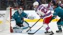 Shattenkirk scores lone shootout goal as Rangers edge Sharks