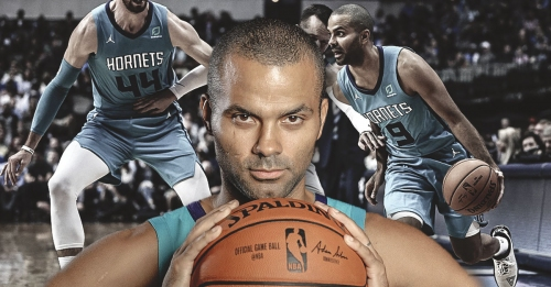 Tony Parker becomes the second-oldest player in NBA history to post 20 points and 10 assists off the bench