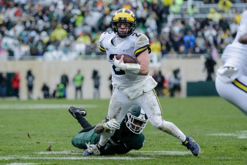 Shea Patterson told Don Brown during MSU game: Get me the ball back