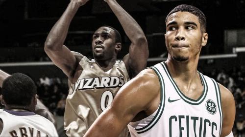 Celtics' Jayson Tatum says he wears No. 0 because of Gilbert Arenas