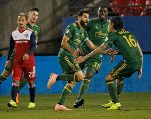 FC Dallas' season ends after 2-1 loss to Portland in knockout round of MLS playoffs