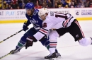 Hawks' hot start fades in 4-2 loss to Canucks