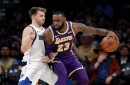 Mavericks can't complete comeback against Lakers; Twitter reacts to wild ending and Wesley Matthews' late foul