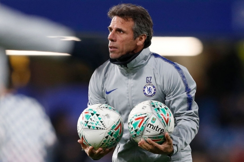 Gianfranco Zola criticises Chelsea stars Gary Cahill and Andreas Christensen after Derby County victory