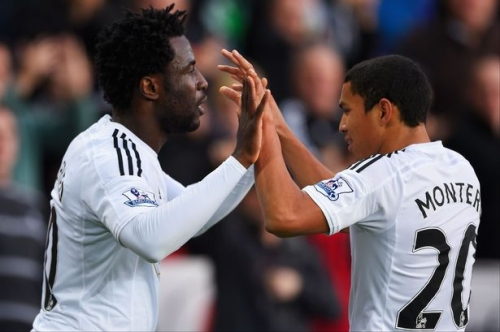Swansea City boss Graham Potter on Wilfried Bony and Jefferson Montero returns as he talks January transfer plans