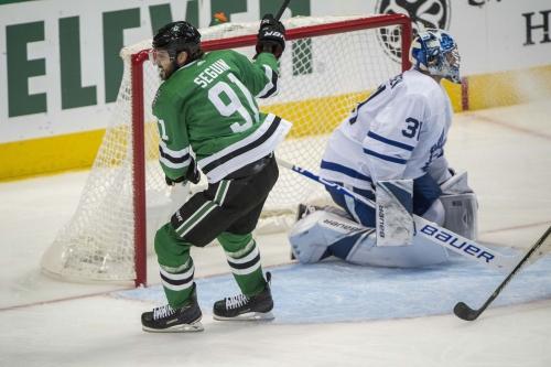 Stars Take On Matthews-Less Leafs Tonight
