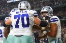 Cowboys vs. Titans injury report: David Irving ankle injury limits him, Zack Martin doesn't practice