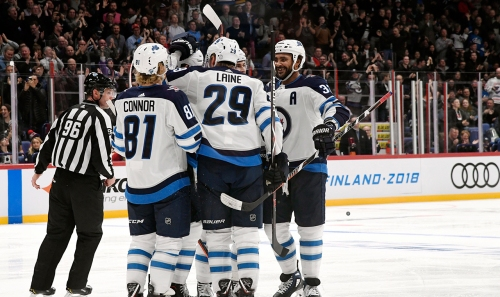 Hat-trick Laine gets Finnish crowd on its feet