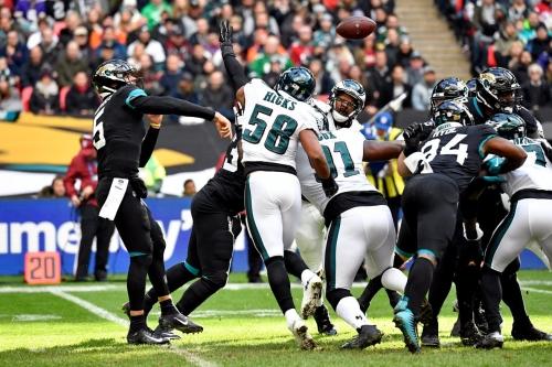 Texas Longhorns in the NFL: Regular Season Week 8