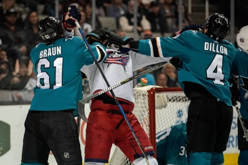 Blue Jackets at Sharks: Lines, gamethread, where to watch