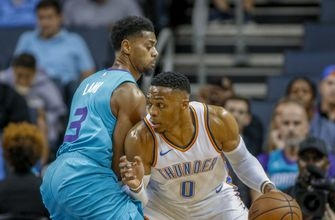 Thunder rally from 19 down in 3rd, top Hornets 111-107