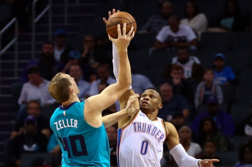 Hornets fall at home to Westbrook's Thunder, 111-107