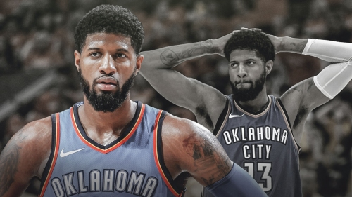 Thunder's Paul George admits to a nagging injury he suffered in preseason play