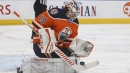 Koskinen makes 40 saves, Oilers blank Blackhawks