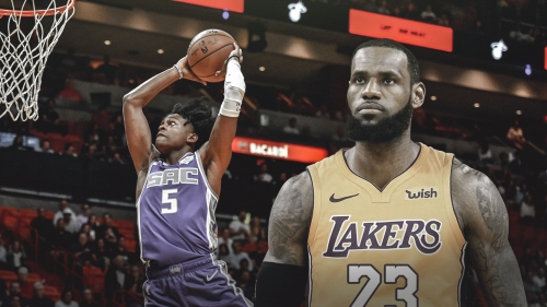 Kings' De'Aaron Fox joins LeBron James as only players ever with 30-point triple-double before 21st birthday