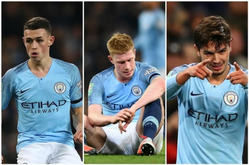 Man City news and transfers LIVE Kevin De Bruyne suffers injury scare as Brahim Diaz scores twice in Carabao Cup