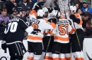 For the first time this season, the Flyers have won consecutive games