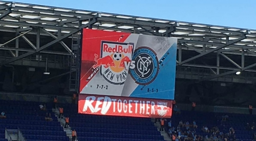 SUNDAY'S SCHEDULE: Red Bulls in Columbus at 3 p.m.; NYCFC hosts Atlanta at 7:30 p.m.