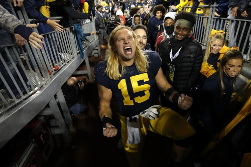 Chase Winovich living his best life as Michigan football's heartbeat