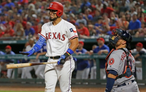 Rangers decline option on C Robinson Chirinos, among others, in handful of moves Friday