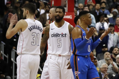 Thunder-Wizards preview: Can the Thunder get back to .500 against the spiraling Wizards?
